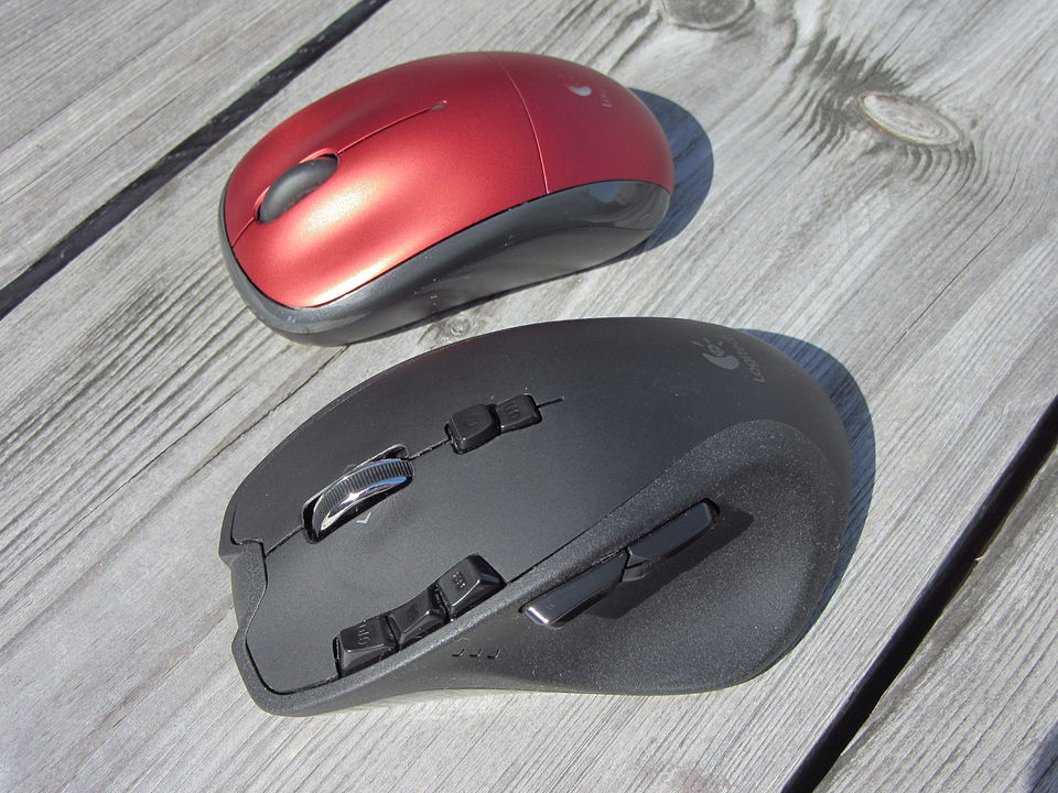 DossierD - Mouse, trackball and pen-tablet